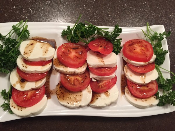 Tomato and Mozzarella appetizer