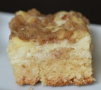 Lighter Polish Cream Cheese Coffee Cake