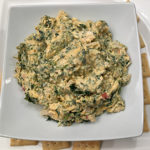 Sharp Cheddar Spinach Dip