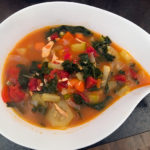 Chicken Garden Vegetable soup
