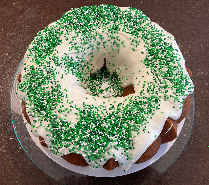 St Patrick Day Cake The Chef You and I