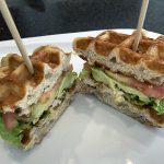 Chicken Avocado Wafflewich