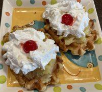 Waffle Breakfast Surprise