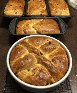 Bochenek Easter Bread loaves
