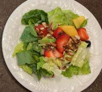 Chef Kathryn's Peach Salad-web
